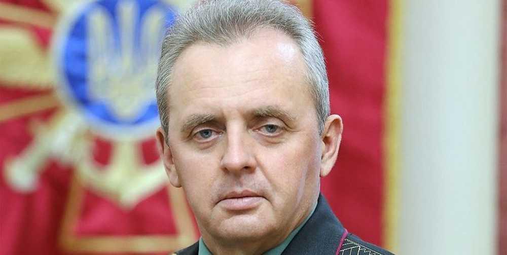Муженко рассказал, что ВС ВСУ нанесли авиаудар по
